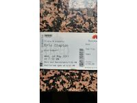 Eric Clapton ticket 24th May