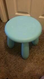 Children's Blue stool