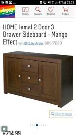 Mango effect sideboard