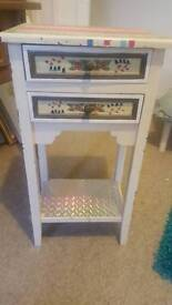 vintage table with drawers shanby chic