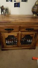Beautiful Sheesham Hardwood Cabinet