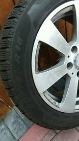 Mercedes alloy wheels