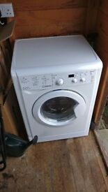 Indesit IWDD7123 Washer Dryer 1200 Spin, 7kg Wash, 5kg Dry - White