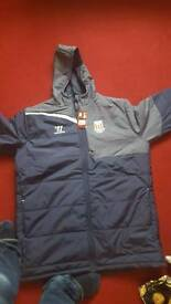 Stoke football club coat