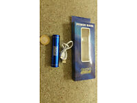 *BRAND NEW* Power Bank 2000mAh Portable Mobile Phone Charger & Torch Light