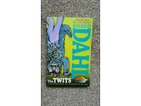 New - the Twits, Roald Dahl book