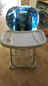 Graco baby high chair 2in1