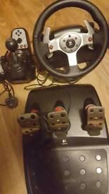 Logitech G25 Steering wheel