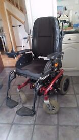 Invacare Spectra XTR2 Powerchair Electric Wheelchair With Raiser / Recline