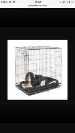 Medium Single Door Dog Crate