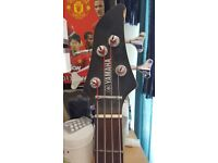 Yamaha Bass Guitar and Bass Amp for sale!