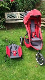 Phil & Ted's Sport double pram