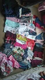 Large bundle of girls clothing age 3-4