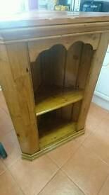 Solid pine corner unit only £20