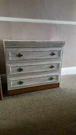 Shabby chic draws and dresser