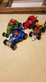Playmobile pull back cars