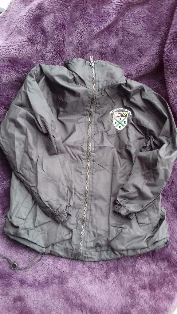 "Plymouth College Prep Raincoat 30"" 76cm"