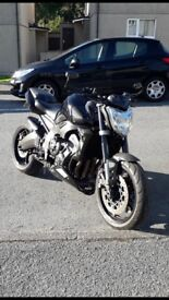 Yamaha FZ1 1000cc 2006 12 months mot 24k miles streetfighter naked sports bike swaps supermoto