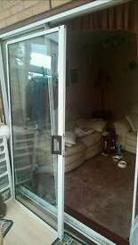 Double glazed Patio Sliding doors aluminium frame,
