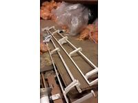 curtain pelmet rails x 2