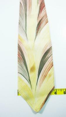 New 1930s Mens Fashion Ties VINTAGE 1930S 40S ORIGINAL HAND PAINTED ABSTRACT ART SWING NECKTIE TIE HDE2519 $9.99 AT vintagedancer.com