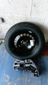 Vauxhall corsa d spare wheel