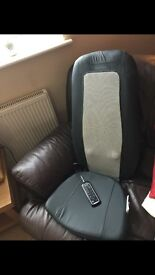 Homedics massage back with controller
