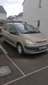 Xsara Picasso For Sale . Starts but requires a new starter motor soon ans cable is corroded.