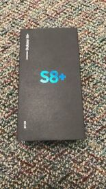New boxed Samsung Galaxy S8 Plus in 64gb Midnight Black - Unlocked