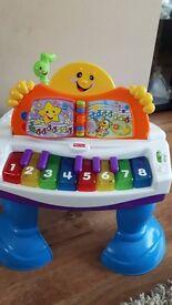 Fisher Price Baby Grand Piano Baby Toy