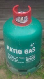 Calor gas bottle 13kg propane green empty