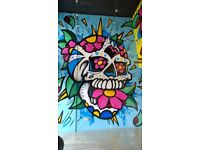 Graffiti/Mural Artist available for new commission's.