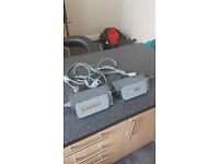 xbox 360 2 x powersupply and 2 x harddrive