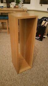 Solid Oak wall mountable unit