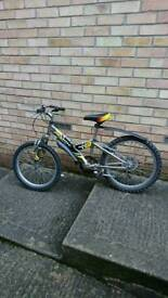 Giant fanatic child's mtb 5 to 10 yr