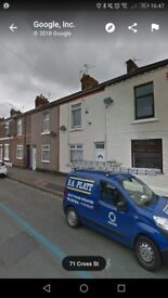 ***no deposit*** 2 bedroom newly refurbished terraced house Widnes