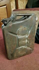 20L Jerry can, Gerry petrol diesel fuel tin