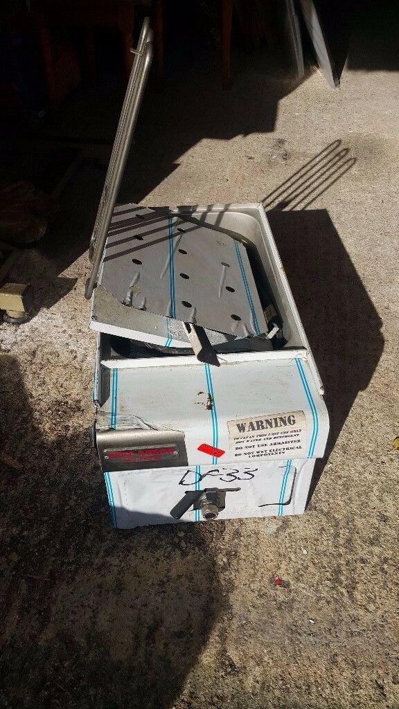 Commercial Electric Deep Fryer w/ Timer and Drain Stainless Steel