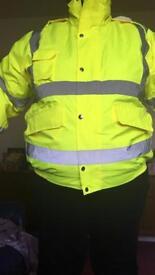 High vis coat 2XL