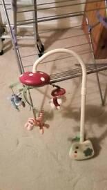 Disney baby cot mobile