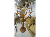 Wooden tree display