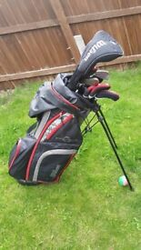 Wilson Profile XLS Golf Clubs Bag Balls Glove Tees Ready to go