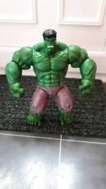 Hulk talking figure