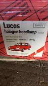 Vauxhall Carlton NOS Headlights 1977-82