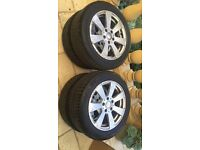 "Mercedes 16"" genuine alloys and michelin tyres"