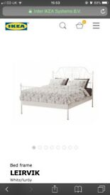 Ikea double bed with mattress £150