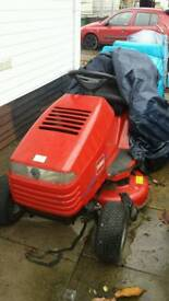 Sit on mower