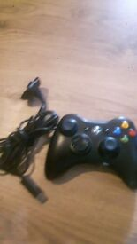 geniune xbox 360 wireless pad and charging cable