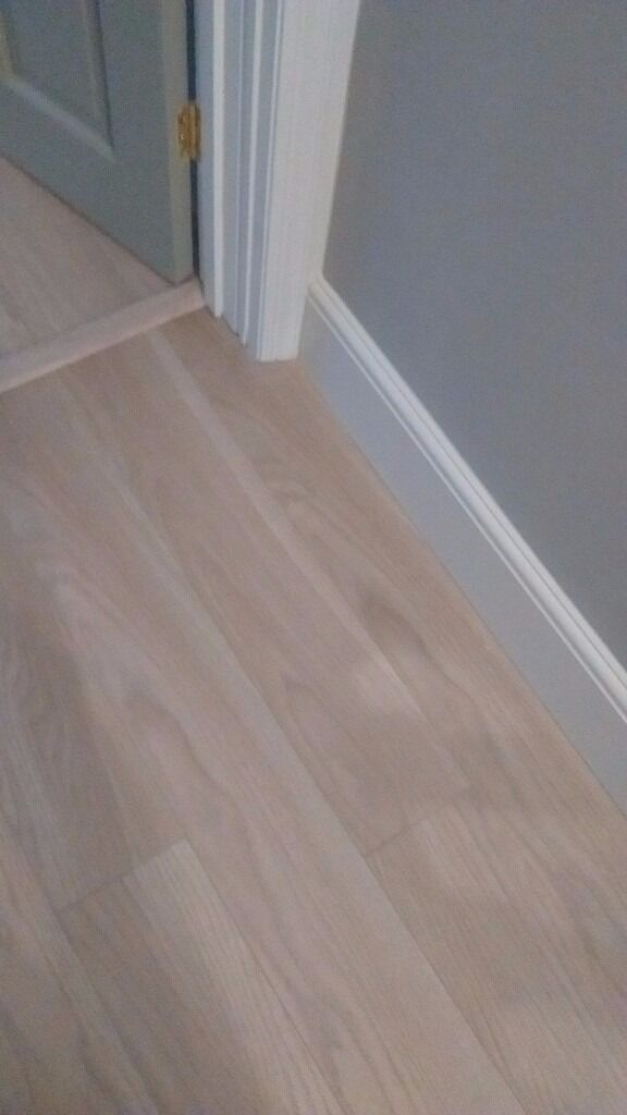 Toccata Cardiff Oak Effect Laminate Flooring Wood Fibre Board Underlay