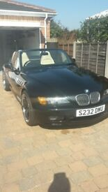Stunning BMW Z3 for sale , fine example lovely drive . MOT until Aug 2018 very reluctant sale .